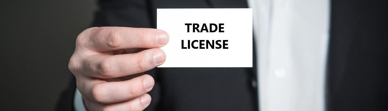 Trade License, License