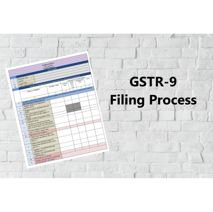 GSTR 9, GST, GSTR filing, GSTR-9 filing