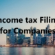 Income tax filing for companies, ITR 6, ITR 7