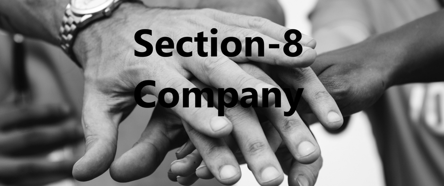Section 8 Company Formation, Section 8 Company