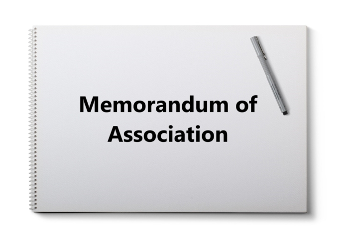 Alteration of Memorandum of Association, Memorandum of Association