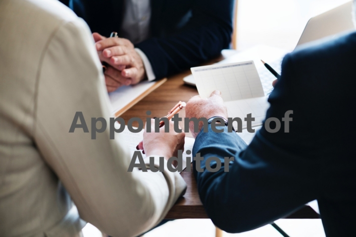 Appointment of Auditor, Auditor Appointment